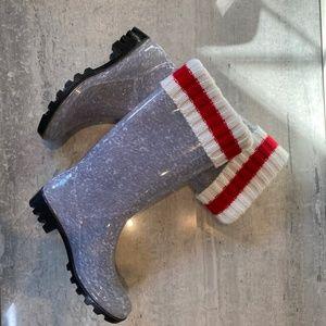 ☔️ Simon Chang rain boots NWOT